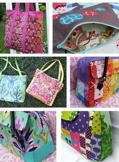 6 Bright Bags to Sew - Sewing Secrets - A Blog by Coats   Clark Fabric 6574fc1c3ed6a
