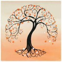 Dessins arbres pour graphisme pinterest - Signification arbre de vie ...