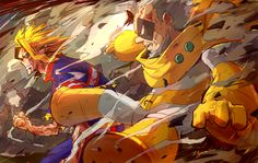 Boku no Hero Academia || All Might, Gran Torino.