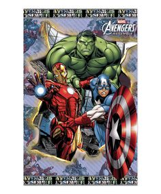 Look at this Avengers Framed 3-D Wall Art on #zulily today!