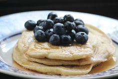 Buckwheat Pancakes with Blueberries