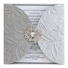 silver wedding invitations | PP029-Silver-Embossed-Love-Wrap-Invitation-Card-Wedding-Invitation ...