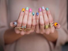 pretty in pastels.