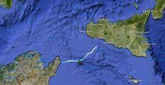 navigation Tunisie, Sicile