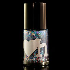20% Cooler - A shimmery and sheer light blue base with a veritable rainbow of glitter that promises to make any old manicure at least 20% Cooler.
