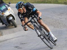 .Tirreno-Adriatico stage 4..But it was Wout who made the move that mattered on the final climb of the day