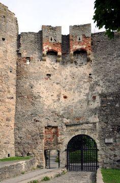 Haapsalu castle gate, Estonia