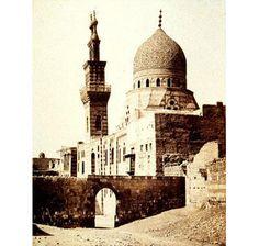 Francis Frith  British, 1822-1898;   The Mosque of the Emir al Aqmar, Cairo, 1858;  Albumen print