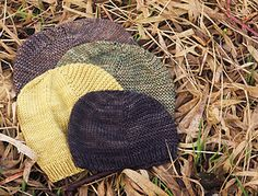 Hat pattern in many sizes