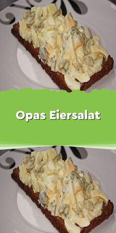Opas Eiersalat 1 Zutaten 6 Ei(er) wachsweich gekochte 1 Becher Joghurt à 125 Gramm 1 EL Mayonnaise 2 TL Senf mittelscharf 1 TL Kape. Mayonnaise, Salad Recipes, Vegan Recipes, Yogurt Recipes, Canned Blueberries, Vegan Scones, Veggie Pizza, Healthy Pizza, Chicken Pizza