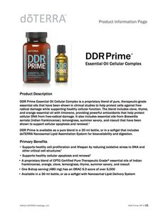 mydōpro | Library | DDR Prime™ Product Information Page