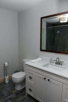 Georgian & Huron Suites share a washroom that has a beautiful oversized rainfall shower and infloor heat. Rainfall Shower, Washroom, Georgian, Glamping, Outdoor, Beautiful, Bath Room, Outdoors, Georgian Language