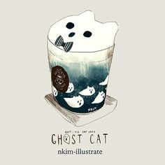 Ghost Cream Cat