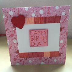 Carte fait mains joyeux anniversaire : Cartes par sab-and-paper