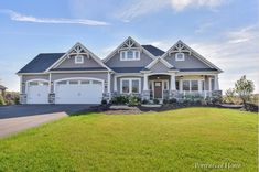 Craftsman Style Ranch Home