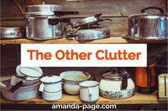 The Other Clutter - Amanda Page