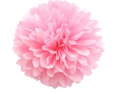 "Set of 3 14"" Light Pink Tissue Pom Pom Baby Pink by SwankyPartyBox--- $8 for set of three + $3 shipping @jengro58"