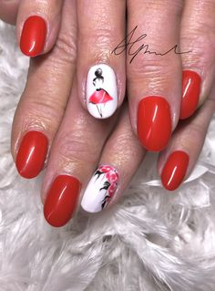 ballerina n gel in rot strasssteine von swarovski rednails moderne n gel nail design. Black Bedroom Furniture Sets. Home Design Ideas