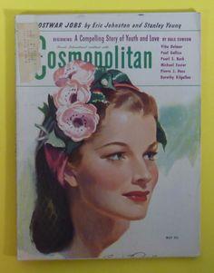 Cosmopolitan magazine, MAY 1944 Artist: Bradshaw Crandell