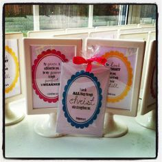 Sweet Blessings: Scripture Cards