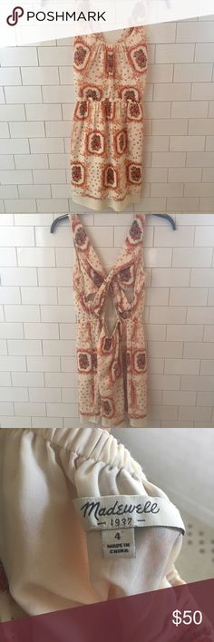 Madewell dress size 4 Madewell dress size 4 only worn once but it's too big for me :( Madewell Dresses Mini