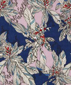 Liberty Art Fabrics Small Paradise B Tana Lawn Cotton