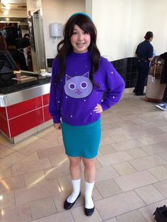 Post with 0 votes and 2383 views. Mabel at ECCC 2013 Cool Costumes, Cosplay Costumes, Costume Ideas, Cosplay Ideas, Halloween Cosplay, Halloween Costumes, Halloween 2018, Halloween Party, Amazing Cosplay