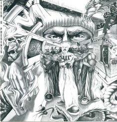 Surenos Surenas gang art   Sureno Drawings Gallery for sureno art