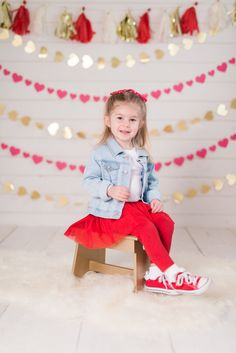 Valentine's Day Photo Shoot-valentine's day-toddler girl fashion-mini session-vday-etsy shop-denim jackets for toddlers