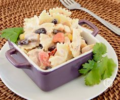 A simple delicious pasta salad for those warm summer days.