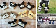 Adorable Animal Boot Toppers...The Perfect Stocking Stuffer!