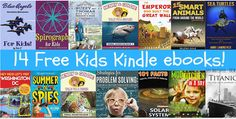 JustAddCoffee- The Homeschool Coupon Mom : 14 Free Kids Kindle ebooks!  Grab Them While You C...