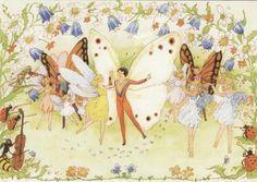 (fairies) by Rudolf Koivu Fairy Land, Fairy Tales, Elves And Fairies, Vintage Fairies, Mythical Creatures, Faeries, Illustrators, Drawings, Artist