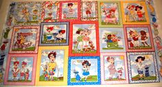 You Golf Girl Fabric Panel  Loralie Designs Fabric by AllenHeart