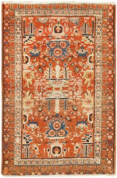 Antique Persian Bakshaish Rug 48243 Main Image - By Nazmiyal