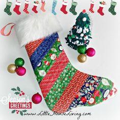 Christmas Stocking Sewing Pattern
