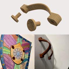 Cardboard shields handles #practical