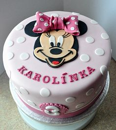 Minnie Cake for cute little girl :)