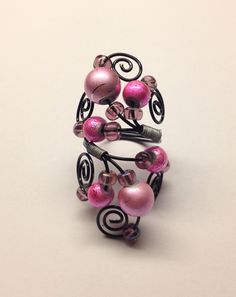 Cotton Candy Wrap Around Ring