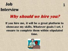 15 Interview Questions & Their Best Possible Answers. Best way to answer frequen. 15 Interview Questions & Their Best Possible Answers. Best way to answer frequently asked HR Interview Questions for Freshers on. Job Interview Answers, Job Interview Preparation, Interview Questions And Answers, Job Interview Tips, Job Interviews, Job Resume, Resume Tips, Job Help, Job Info