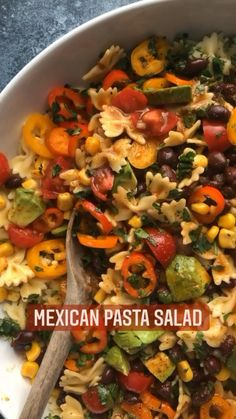 Healthy Summer Recipes, Healthy Food List, Potluck Recipes, Mexican Food Recipes, Salad Recipes, Dinner Recipes, Cooking Recipes, Pressure Cooker Recipes, I Love Food
