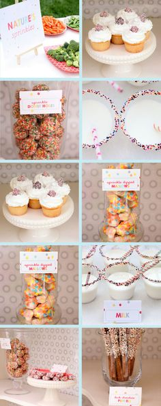 A Sprinkle Party: The party food
