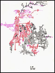"ACID Drawings : TRIP 024 ""INPUT ALIENI"""