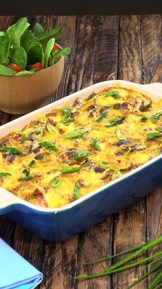 als Auflauf Immer wieder!Schnitzel als Auflauf Immer wieder! A delicious twist on the classic Alfredo. Penne Alfredo with Bacon and Sun Dried Tomato will change your 'go to' quick dinner forever Pork Recipes, Chicken Recipes, Cooking Recipes, Diet Recipes, Chicken Meals, Grilled Chicken, Tasty Videos, Food Videos, Power Salad