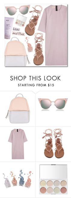 """""""- Lilac and Pink -"""" by fashionablemy ❤ liked on Polyvore featuring Calvin Klein, Fendi, Marni, Summer, Pink, summerstyle and lilac"""