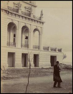 """Ξενοδοχείο """"Ακταίον"""", Νέο Φάληρο, c.1900. Old Photos, Sailing, Greece, Louvre, Explore, Country, Architecture, Vintage, Travel"""