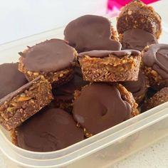 Healthy Mummy Recipes, Healthy Sweet Treats, Vegan Treats, Healthy Sweets, Healthy Baking, Raw Food Recipes, Sweet Recipes, Healthy Snacks, Snack Recipes