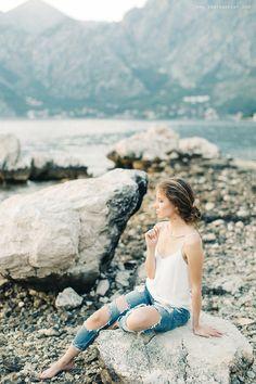 inspirational #shooting for Delezhen www.sonyakhegay.com/delezhen #sonyakhegay #girl #mountains