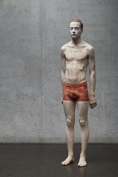Bruno Walpoth (Bressanone 1959 - ...) - wooden sculpure #TuscanyAgriturismoGiratola