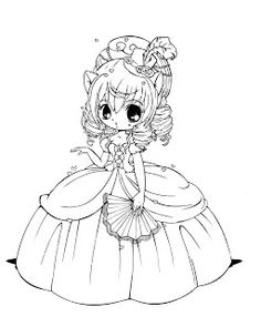 Sweet Lolita Coloring Pages